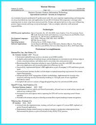 business analyst resume exles system analyst resume sle business system analyst resume