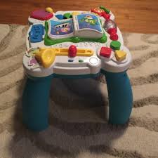 learn and groove table leapfrog learn and groove musical table activity center twin baby