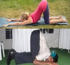 Drunk Yoga Meme - yoga vs drunk yoga 12 pics things that make me laugh