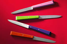 the burly beautiful and sometimes brightly colored steak knives