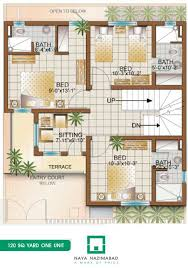 Incredible 1 Architectural Design 120 Yard House Bungalows Naya Nazimabad Home