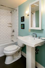 Powder Room With Pedestal Sink Bathrooms Design Endearing Pedestal Sink Bathroom Design Ideas