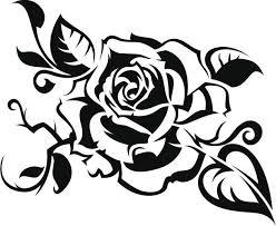 imagenes para colorear rosas dibujos de rosas para colorear buscar con google repujado