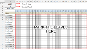 Template Sheets Free Employee Leave Tracker Template In Sheets