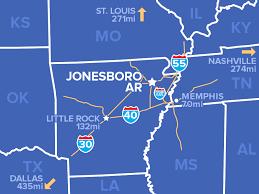 map of jonesboro ar utilities jonesboro chamber of commerce
