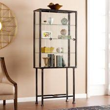 glass display cabinets ebay