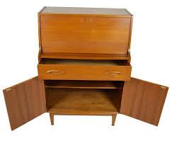 Wooden Secretary Desk by Mid Century Danish Modern Teak Secretary Desk By Jentique