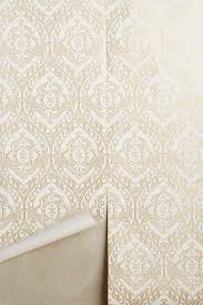 orange wallpaper anthropologie