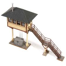 Micromark Outdoor Lighting by Laserkit Grand Avenue Tower Kit Ho Scale