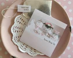 tea bag wedding favors tea bag favors etsy