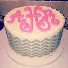 monogram birthday cake that s so me monogram