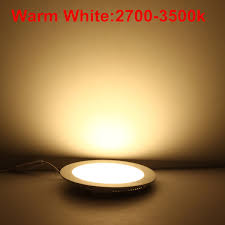 25 watt round led ceiling light recessed kitchen bathroom lamp
