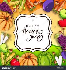 beautiful happy thanksgiving day celebration concept stock vector