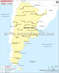 Major Cities Of Usa Map by Cities In Argentina Argentina Cities Map