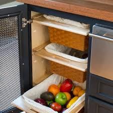 vegetable storage kitchen cabinets vegetable storage houzz