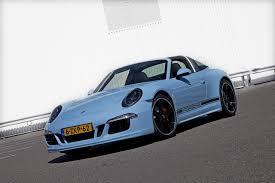 Porsche 911 Blue - porsche exclusive builds a 911 targa 50th anniversary in stunning