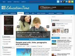 20 best free responsive education wordpress themes