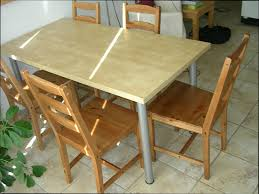 cuisine bois table en verre ikea avec ikea table bois stunning table de cuisine