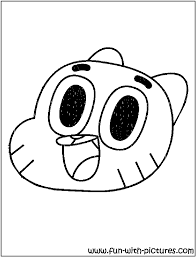 penny amazing gumball coloring pages coloring pages