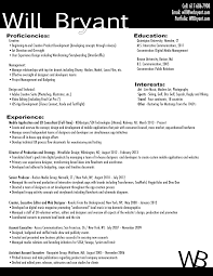 Sprint Resume Resume Will Bryant
