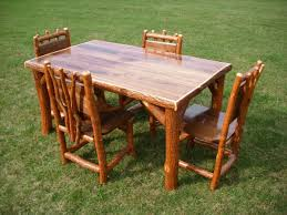 Amish Made Dining Room Tables by Amish Dining Table And Chairs Chairdsgn Com