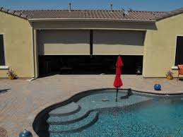 Blinds For Patio by Patio Ideas Roll Up Patio Blind In A Shape Of Soft Shade Also