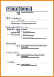 Best Resume Certifications by 8 Best Cv Format Word Document Dialysis Nurse