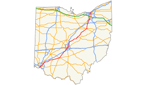 Cleveland Ohio Map by Ohio State Route 3 Wikipedia