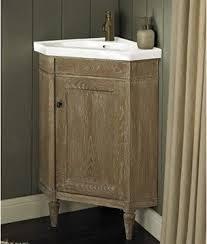 Corner Vanity Units With Basin Corner Vanity U0026 Sink Set Weathered Oak Rustic Bathroom Vanities