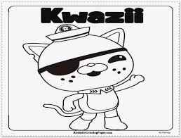 octonauts coloring pages realistic coloring pages