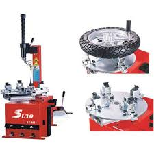 Motorcycle Tire Changer And Balancer Pneumatic Swing Arm Motorcycle Tyre Changer Semi Automatic Suto