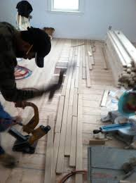 How To Replace A Damaged Piece Of Laminate Flooring Hardwood Floor Installation A Fast And Efficient Way To Install