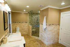 Two Tone Bathroom with West Chester Master Bathroom Renovation