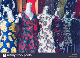 urban dress room with female mannequin stock photo royalty free