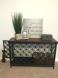 dog kennel side table dog crate coffee table plans table designs