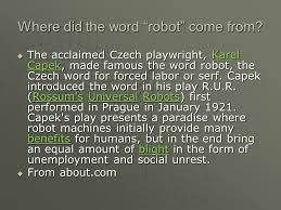 robots eq how do humans interact with robotic systems ppt