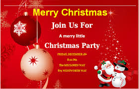 christmas party invitation template ms word merry christmas party invitation cards word excel