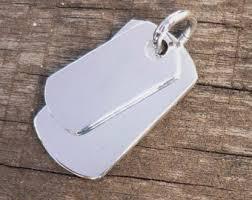 mens dog tags engraved silver dog tag etsy