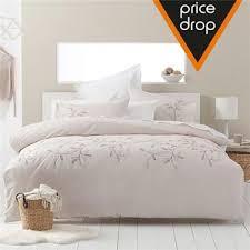 image for bed vines embellished quilt cover set from kmart
