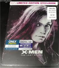 x men the last stand blu ray steelbook best buy exclusive