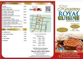 Royal Cuisine Takeaway menu Picture of Singh s Royal Cuisine