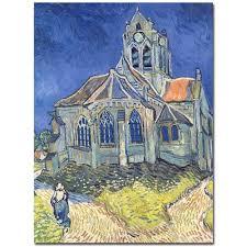 vincent van gogh church at auvers sur oise 1890 art free vincent van gogh x27 church at auvers sur oise