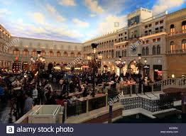 Venetian Las Vegas Map by Plaza By Grand Canal In Venetian Hotel And Casino Las Stock Photo
