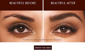 How To Arch Eyebrows Legendary Brows Brow Gel Charlotte Tilbury