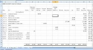Small Business Accounting Excel Template Book Keeping Spreadsheets For Small Business