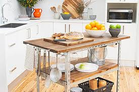 diy kitchen island cart 6 diy kitchen islands apartment therapy