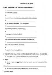 english worksheets conjunctions worksheets page 144