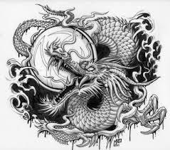 art blog dragon themed tattoo design