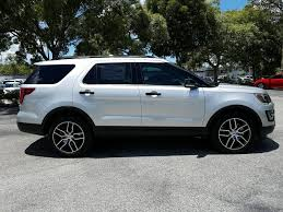 new 2017 ford explorer sport sport utility in sarasota hgd36044