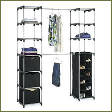 wardrobes double rod portable closet double hang closet rod